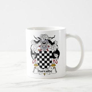 Iturralde Family Crest Classic White Coffee Mug