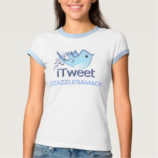 iTweet @ Your User Name shirt