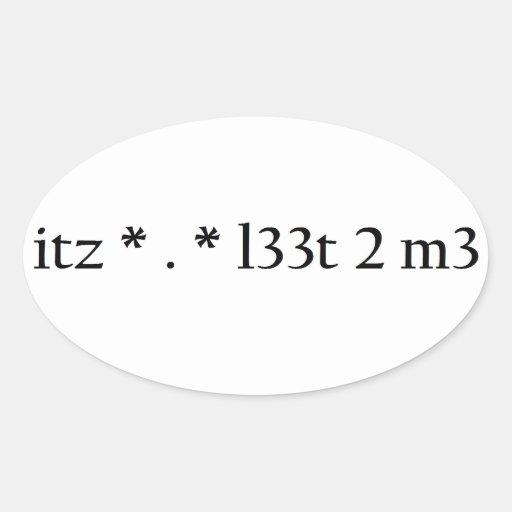 itz * . * l33t 2 m3 stickers