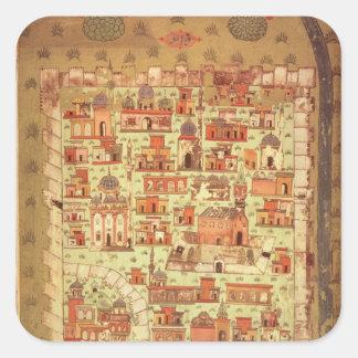 IUK T.5964 View of Diyarbakir Square Sticker