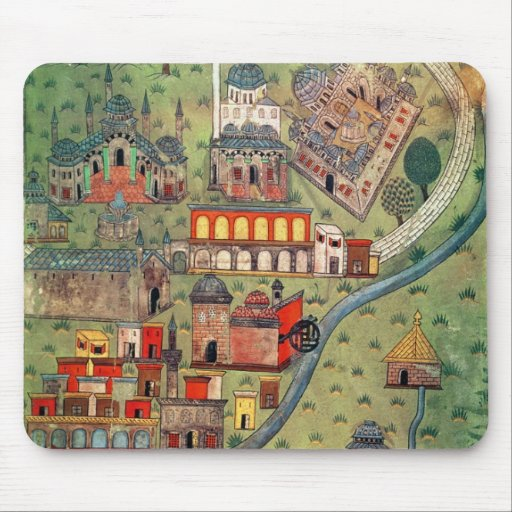 IUK T.5964 View of Eskisehir Mouse Pad