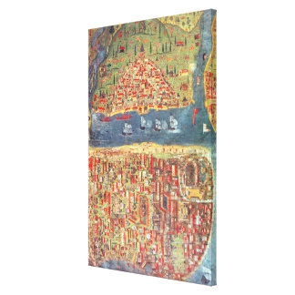 IUK T.5964 View of Istanbul Canvas Prints