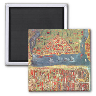 IUK T.5964 View of Istanbul Refrigerator Magnets