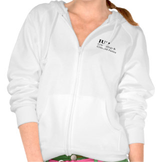 IUP CCJ Women's Zip Hoodie