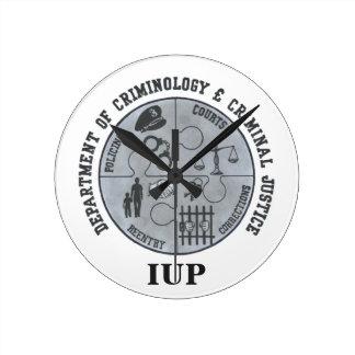 IUP Criminology & Criminal Justice Clock