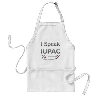 IUPAC International Union Pure & Applied Chemistry Adult Apron