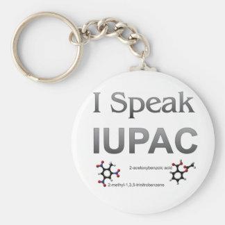 IUPAC International Union Pure & Applied Chemistry Keychain
