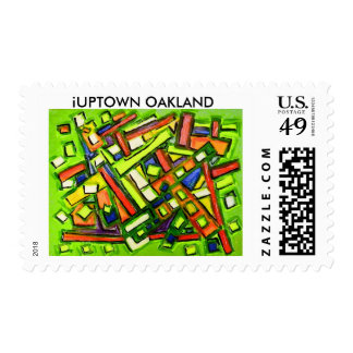 iUptown Oakland Stamp