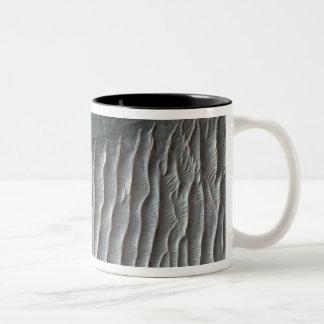 Ius Chasma, a large canyon on Mars Two-Tone Coffee Mug