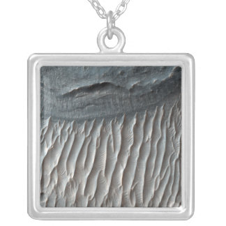 Ius Chasma, a large canyon on Mars Silver Plated Necklace
