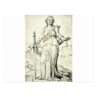 Iustitia by Maerten van Heemskerck Postcard