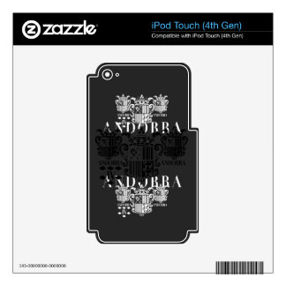 IV - ANDORRA iPod TOUCH 4G SKINS