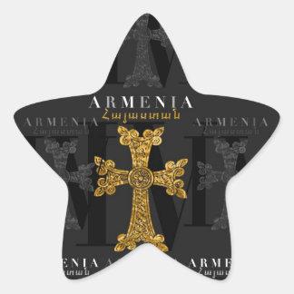 IV - Armenia Calcomanías Forma De Estrellaes