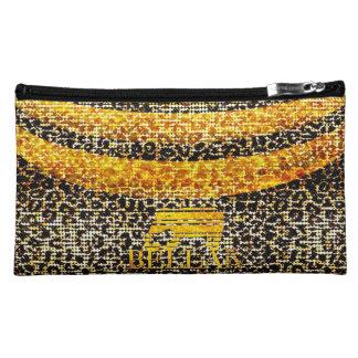 IV Bella- ghepardo Makeup Bag