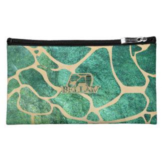 IV Bella- Giraffa Giada Cosmetic Bag