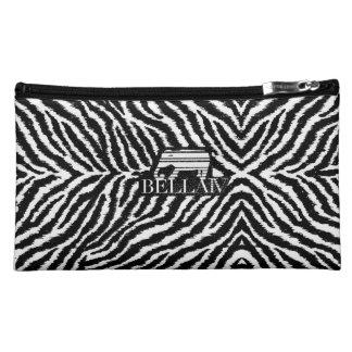 IV Bella- Tigre Bianca Makeup Bags
