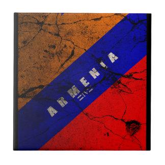 IV - Cstm de ARMENIA Azulejo Cuadrado Pequeño