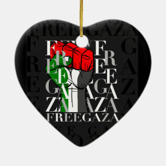 IV - Free Gaza Christmas Ornaments