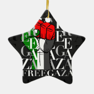 IV - Free Gaza Christmas Tree Ornaments