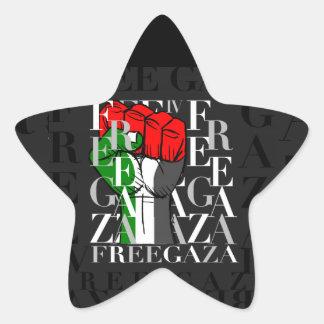 IV - Free Gaza Star Sticker
