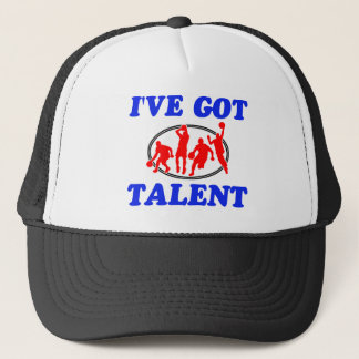 i'v got basketball talent design trucker hat