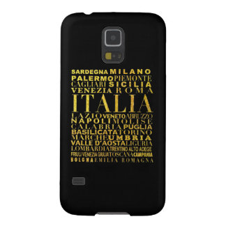 IV - ITALIA UNITA black Galaxy S5 Cover