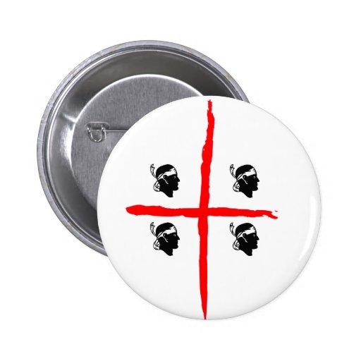 IV - Mori de SARDEGNA 4 Pin Redondo 5 Cm