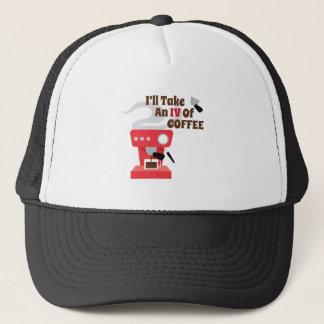 IV Of Coffee Trucker Hat