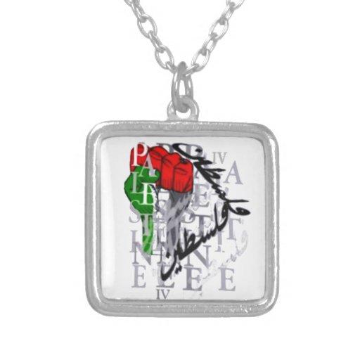 IV - Palestina Colgante Cuadrado