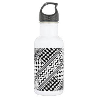 IV - Palestine Kaffiyeh 18oz Water Bottle