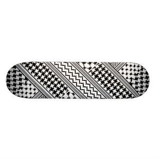 IV - Palestine Kaffiyeh Board Skateboard Deck
