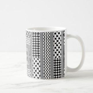IV - Palestine Kaffiyeh Coffee Mug