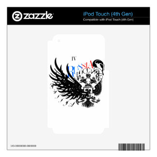 IV - Russia iPod Touch 4G Skins