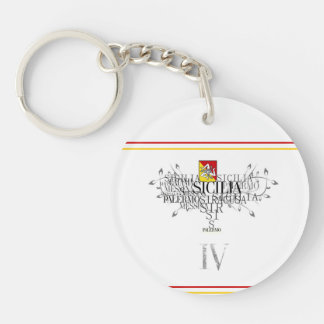 IV - SICILIA ( KEYCHAIN) KEYCHAIN
