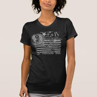 IV USA IV -Dark Wmns Tee Shirts