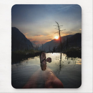 Iva Bell Hot Springs Sunset Ansel Adams Wilderness Mouse Pad