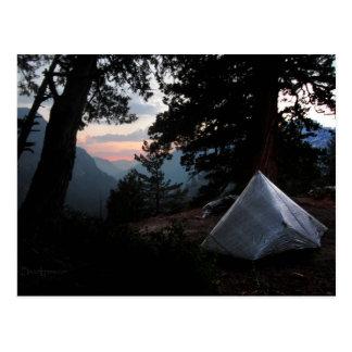 Iva Bell Hot Springs Sunset Ansel Adams Wilderness Postcard