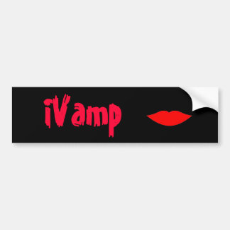 iVamp Vampire bumper sticker