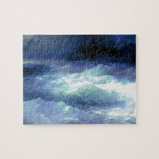 Ivan Aivazovsky- Between the waves Jigsaw Puzzles