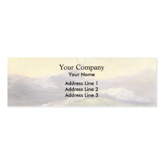 Ivan Aivazovsky- Bracing The Waves Business Cards