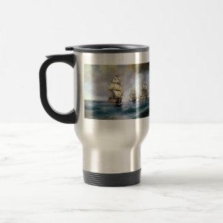 Ivan Aivazovsky- Brig Mercury Attacked by Ships Coffee Mugs