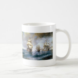 Ivan Aivazovsky- Brig Mercury Attacked by Ships Mug