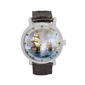 Ivan Aivazovsky- Brig Mercury Attacked by Ships Wristwatch