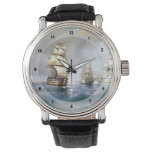 Ivan Aivazovsky- Brig Mercury Attacked by Ships Wristwatches
