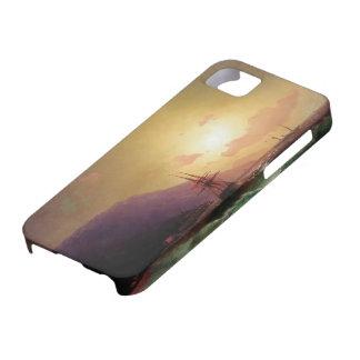 Ivan Aivazovsky- cerca de la costa de Yalta iPhone 5 Carcasa