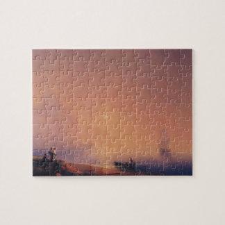 Ivan Aivazovsky- Crimean Tartars on the Sea Shore Jigsaw Puzzle