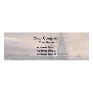 Ivan Aivazovsky- el aterrizaje a Subashi Plantillas De Tarjeta De Negocio