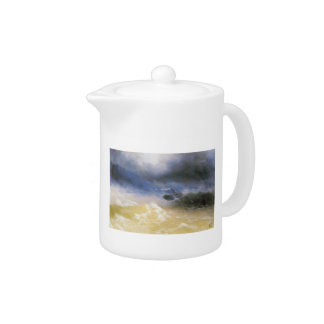 Ivan Aivazovsky- Hurricane on a sea