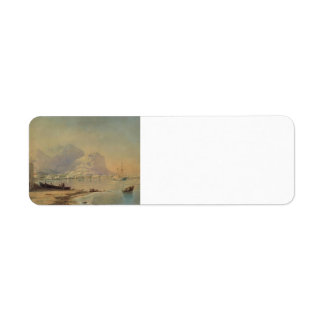 Ivan Aivazovsky- In harbour Return Address Label