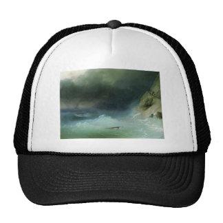 Ivan Aivazovsky- la tempestad cerca de rocas Gorras